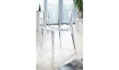 SalesFever Esszimmerstuhl, in transparentem Design kaufen