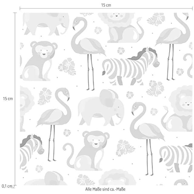 Fliesenaufkleber »Tiere«