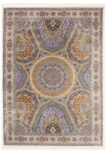 OCI DIE TEPPICHMARKE Teppich »SILK LINE SHAH ABBAS«, rechteckig, 5 mm Höhe, Wohnzimmer kaufen
