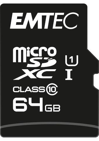 EMTEC »microSD UHS - I U1 EliteGold« Speicherkarte (85 MB/s Lesegeschwindigkeit maximal) kaufen
