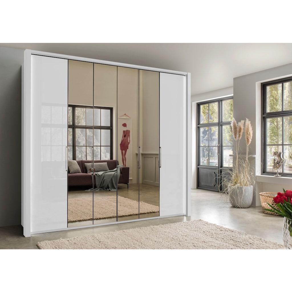 WIEMANN Kleiderschrank »Kansas«, mit Spiegel und Glas
