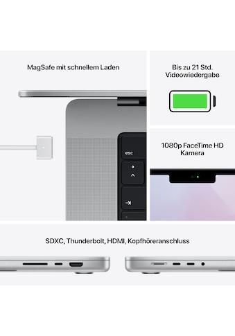 "Apple Notebook »MacBook Pro 16 MK183«, (41,05 cm/16,2 "" Apple M1 Pro \r\n 512 GB SSD) kaufen"