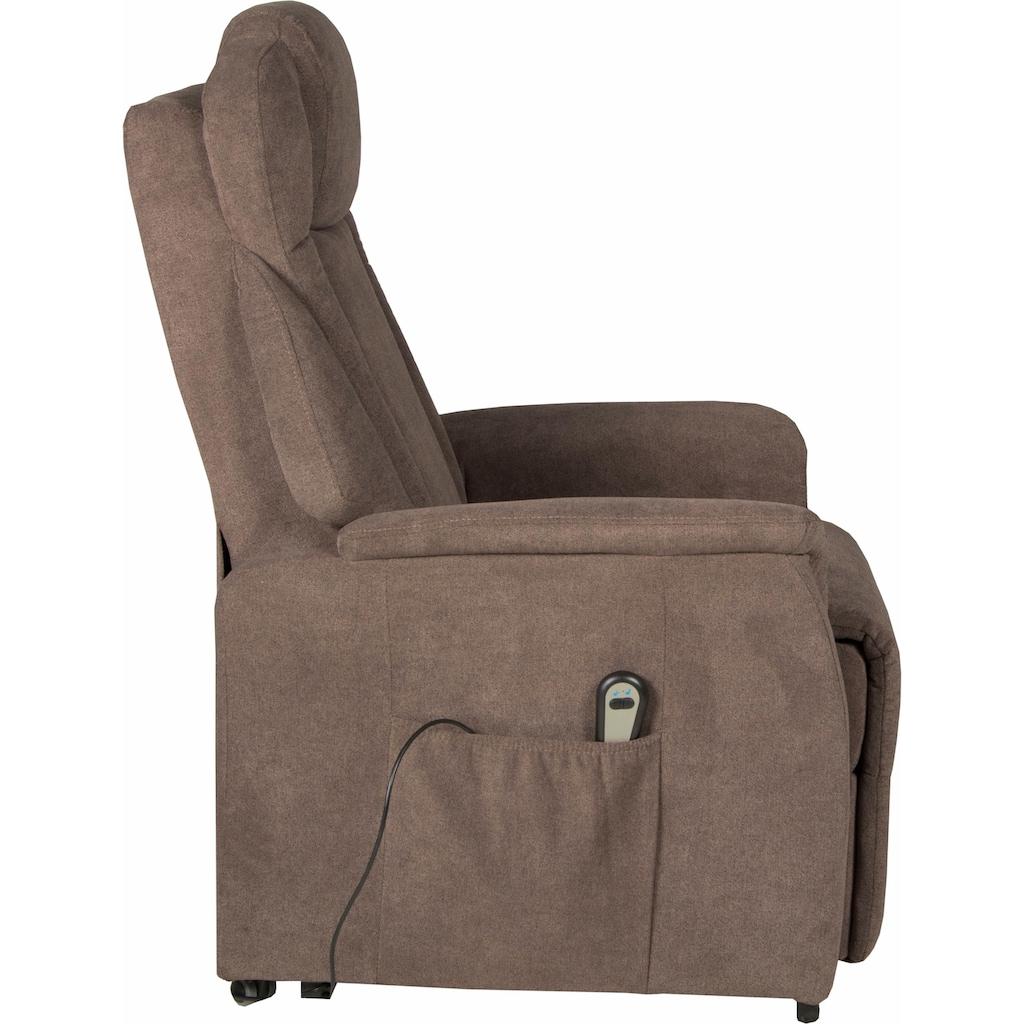 Duo Collection TV-Sessel, mit Aufstehhilfe Toronto XXL, bis zu 150 KG belastbar