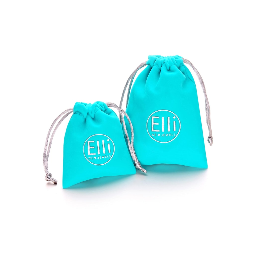 Elli Ohrring-Set »0302762613«, (Set, 4 tlg.), mit Kristallen