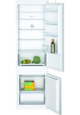 BOSCH Einbaukühlgefrierkombination, KIV87NSF0, 177,2 cm hoch, 54,1 cm breit kaufen
