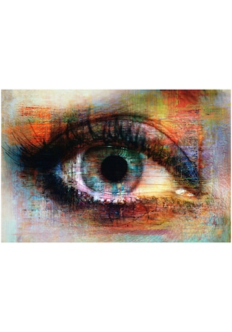 Art & Pleasure Metallbild »The eye« kaufen