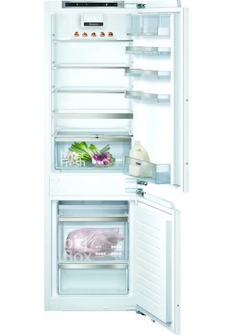 SIEMENS Einbaukühlgefrierkombination »KI86SHDD0«, iQ500 kaufen