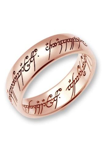 Der Herr der Ringe Goldring »Der Eine Ring  -  Rotgold, 10004077, 10004078, 10004079« kaufen