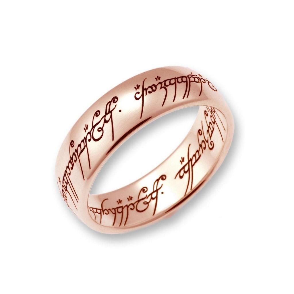 Der Herr der Ringe Goldring »Der Eine Ring - Rotgold, 10004077, 10004078, 10004079«