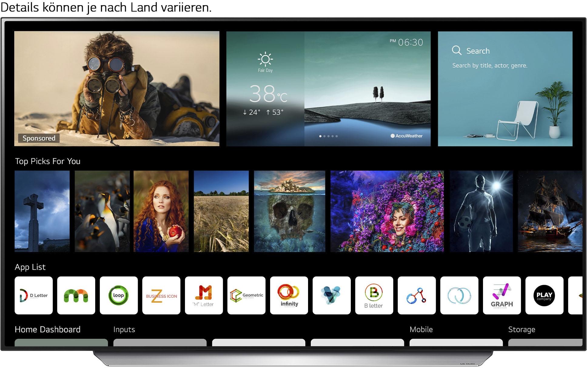 LG OLED-Fernseher OLED55C17LB , 139 cm 55 , 4K Ultra HD, Smart-TV