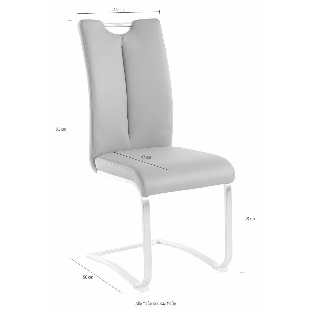 MCA furniture Freischwinger »Artos«, Stuhl bis 140 Kg belastbar