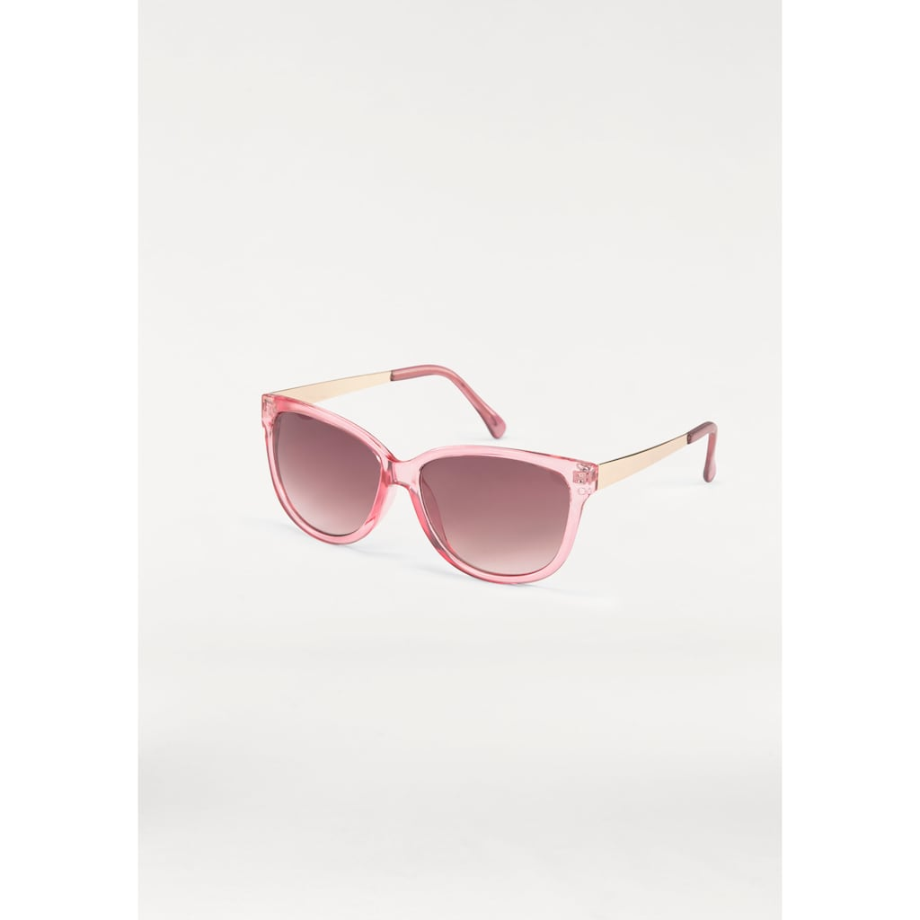 J.Jayz Sonnenbrille, (1 St.), Eckige Brille, Retro Look