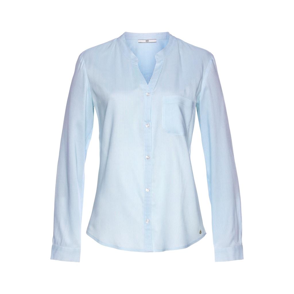 AJC Hemdbluse, mit unterschiedlichen Druckvarianten oder in Uni