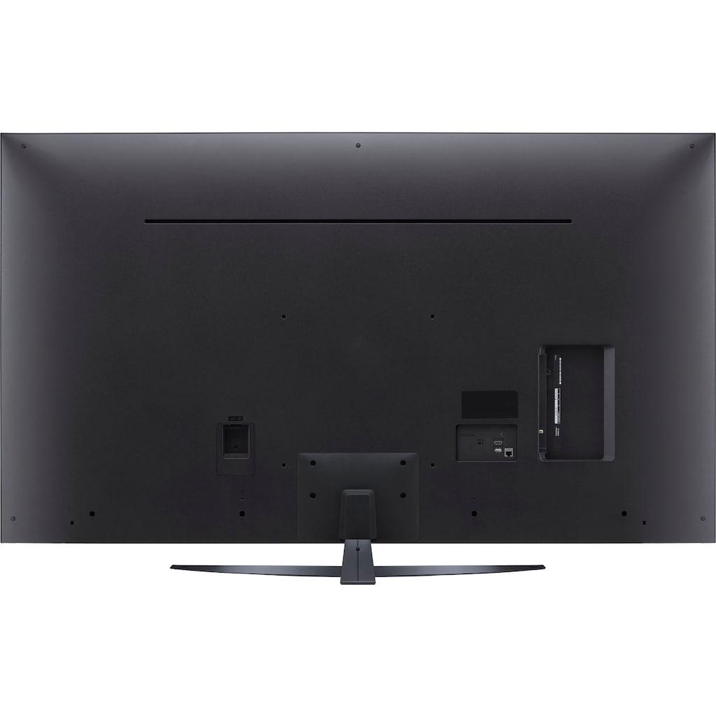 "LG LCD-LED Fernseher »55UP81009LR«, 139 cm/55 "", 4K Ultra HD, Smart-TV, LG Local Contrast-Sprachassistenten-HDR10 Pro-LG ThinQ-inkl. Magic-Remote Fernbedienung"