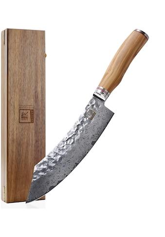 ZAYIKO Damastmesser, (1 tlg.), Klingenlänge 20,5 cm, japanischer Damaststahl VG-10 kaufen
