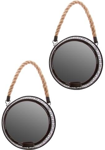 Myflair Möbel & Accessoires Spiegelwandblaker »Anandi«, (Set, 2 St.) kaufen