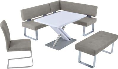K+W Komfort & Wohnen Eckbankgruppe »SANTOS II«, (Set), wahlweise rechts oder links... kaufen
