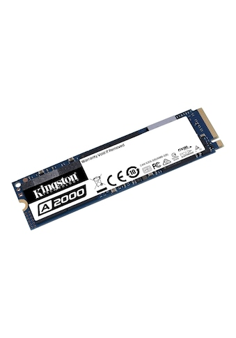 Kingston SSD »A2000 NVMe PCIe« kaufen