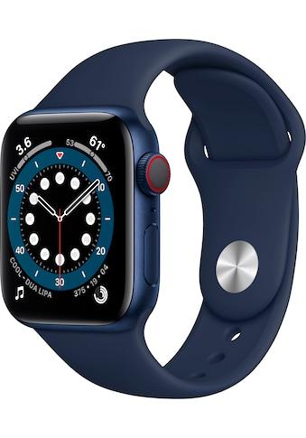 Apple Watch »Series 6 GPS + Cellular, Aluminiumgehäuse mit Sport 40mm«, (Watch OS 6... kaufen