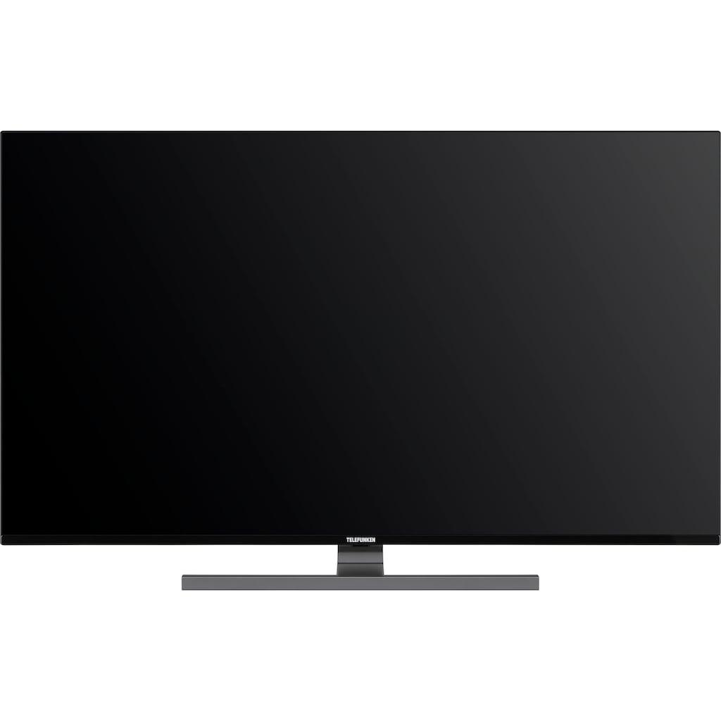 """Telefunken LED-Fernseher »D50V900M4CWH«, 126 cm/50 """", 4K Ultra HD, Smart-TV, 9.0, HDR10, Dolby Vision, 36 Monaten Herstellerlangzeitgarantie"""