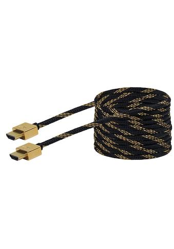 Schwaiger High Speed HDMI Kabel mit Ethernet, 4K, Full HD, 3D Ultra HD »Flachkabel, sehr dünn« kaufen