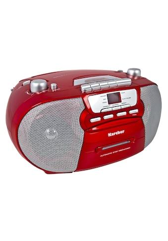"Karcher tragbare Stereo Boombox »RR 5040 - R ""Oberon""« kaufen"