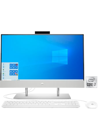 HP »27 - dp0025ng« All - in - One PC (Intel®, Core i7, UHD Graphics 630, Luftkühlung) kaufen