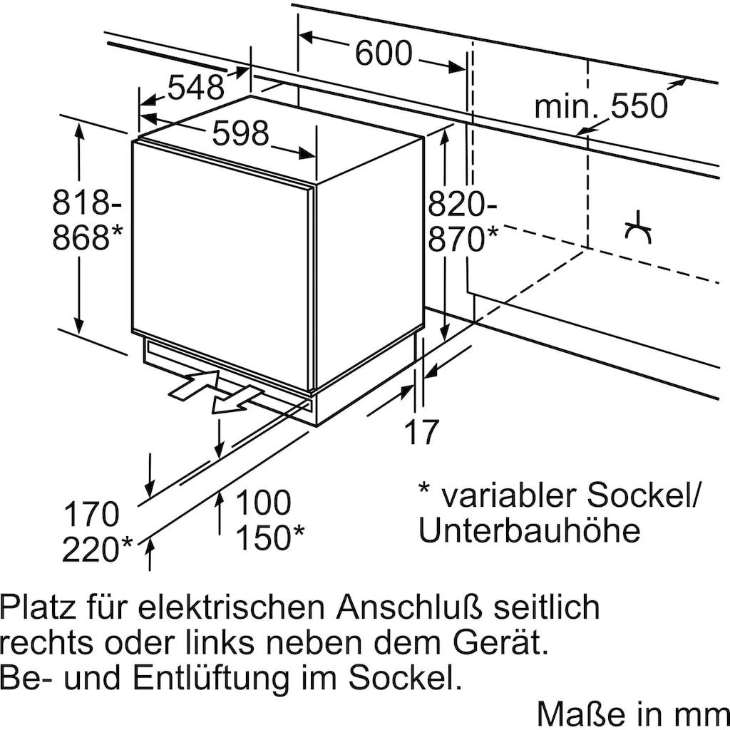 NEFF Einbaugefrierschrank »G4344XFF0«, N 50, 82 cm hoch, 59,8 cm breit