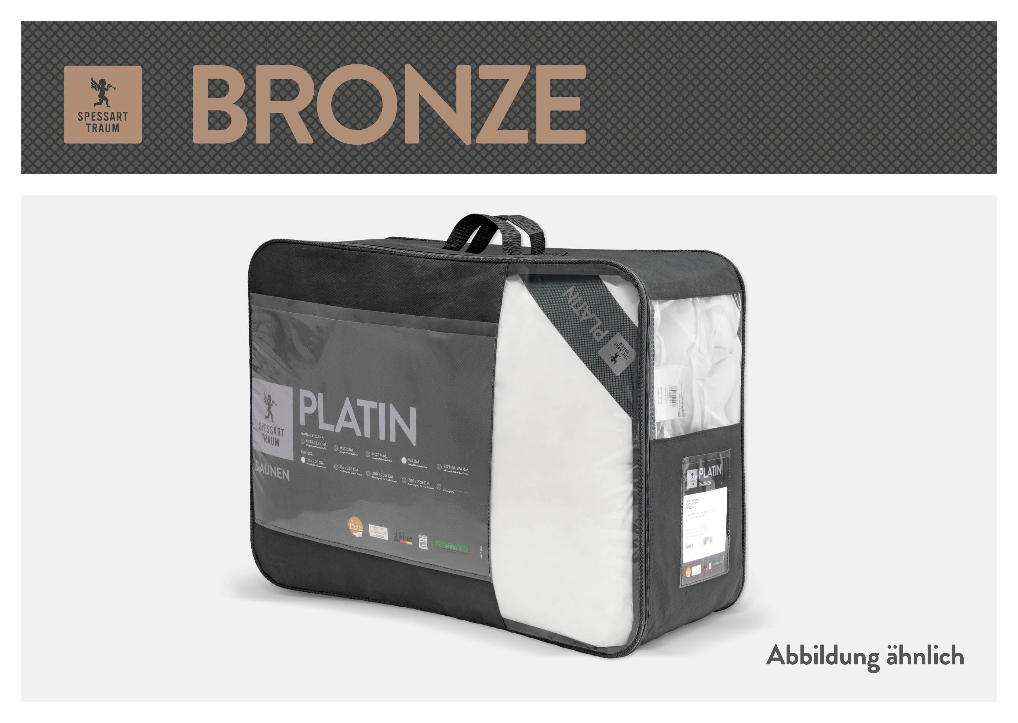 Baumwollbettdecke, »Bronze«, SPESSARTTRAUM günstig online kaufen