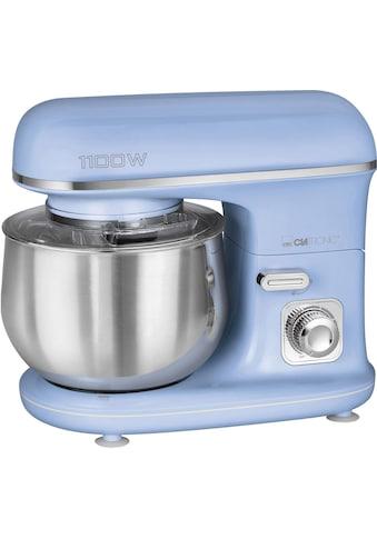 CLATRONIC Küchenmaschine »KM 3711 blau«, 1100 W, 5 l Schüssel kaufen