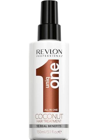 REVLON PROFESSIONAL Leave-in Pflege »Uniq One All in One Coconut Hair Treatment«, repariert volumengebend kaufen