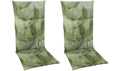 GO - DE Sesselauflage »Mittellehner«, 2er Set, (L/B): ca. 110x50 cm kaufen