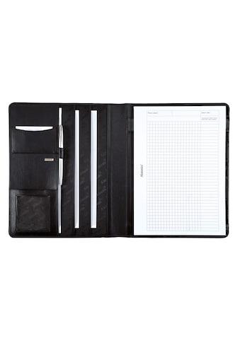 Alassio® Schreibmappe »DIN A4, Cremona«, aus Leder kaufen