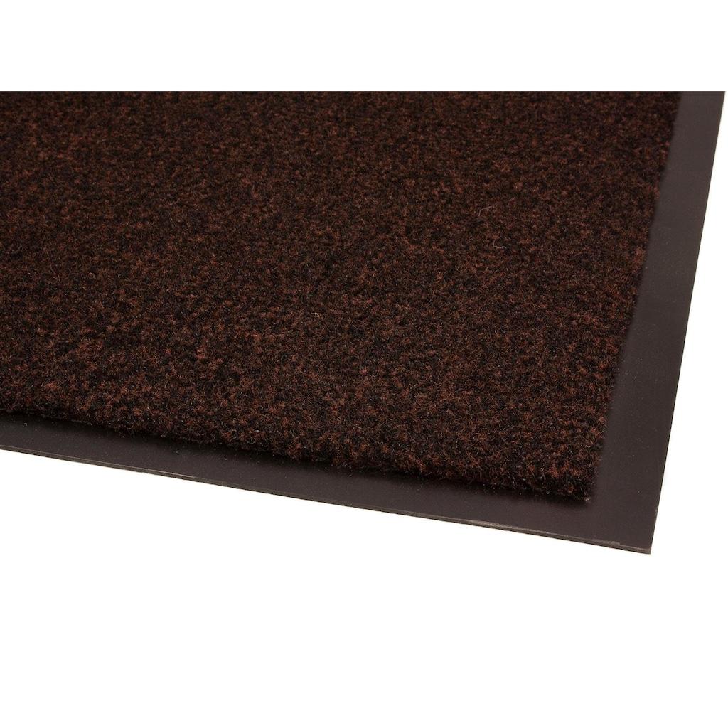 Primaflor-Ideen in Textil Fußmatte »GREEN & CLEAN«, rechteckig, 8 mm Höhe, Schmutzfangmatte, In- und Outdoor geeignet, waschbar