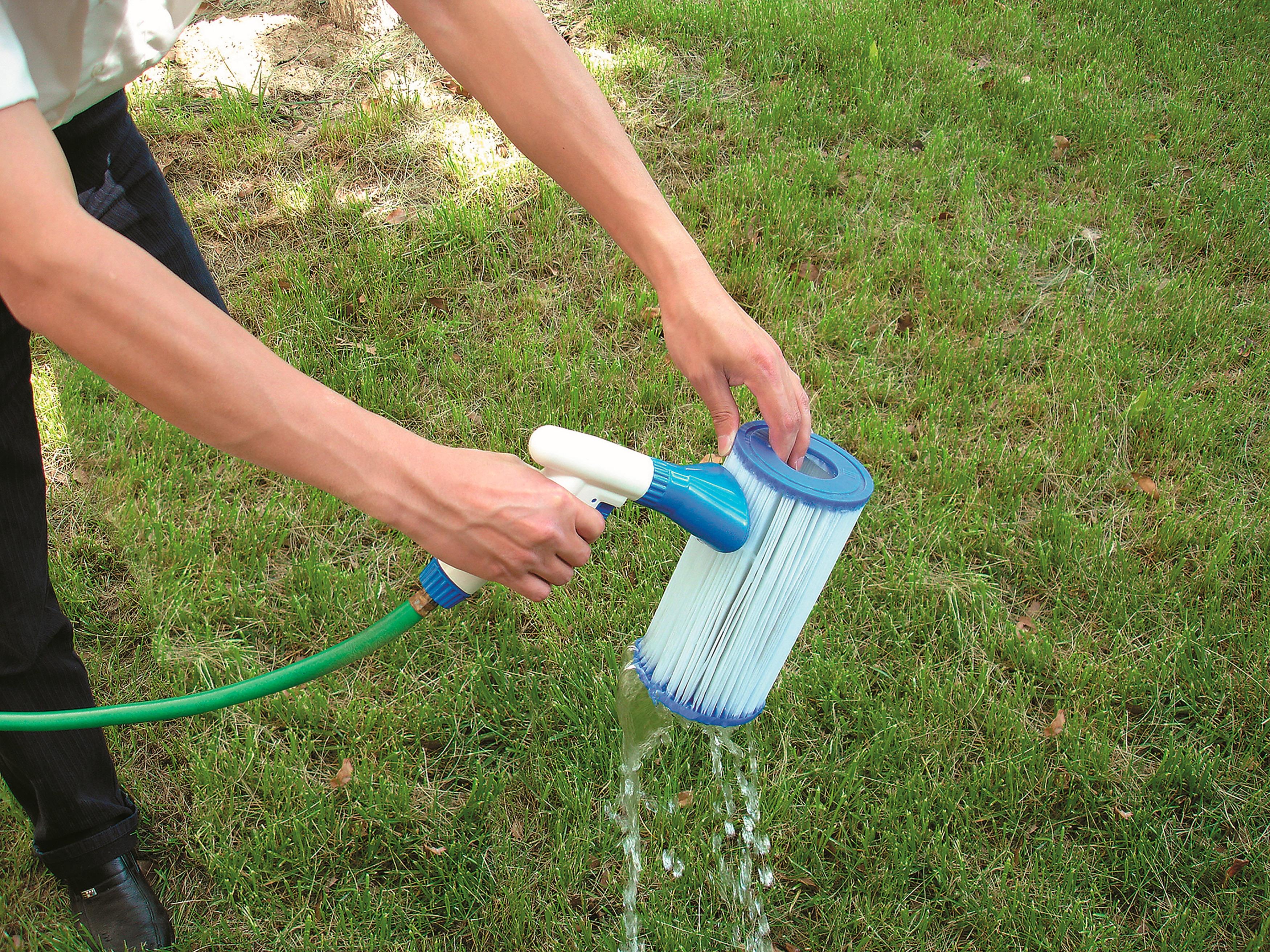 BESTWAY Ersatzfilterkartusche »Flowclear™«, 2 Stk. Größe 1, ØxH 8,0x9, 0 cm   Küche und Esszimmer > Küchengeräte > Wasserfilter   Blau   BESTWAY
