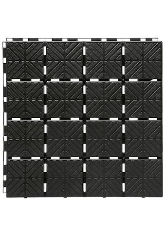 PROSPERPLAST Bodenplatte »Easy square S411«, BxTxH: 40x40x2 cm kaufen