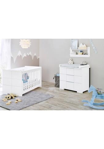 Pinolino® Babymöbel-Set »Polar«, (Spar-Set, 2 St.), breit; mit Kinderbett und... kaufen