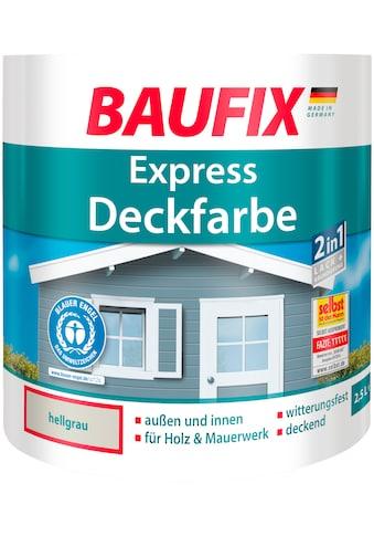 Baufix Lack »Express Deckfarbe«, 2,5 Liter, grau kaufen