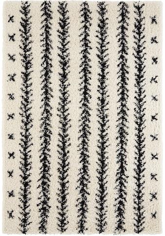 Hochflor - Teppich, »Linn«, Home affaire, rechteckig, Höhe 35 mm, maschinell gewebt kaufen