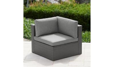 KONIFERA Loungesessel »Malta«, Seitenteil, Polyrattan, inkl. Sitz -  und Rückenpolster kaufen