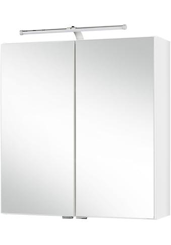 HELD MÖBEL Spiegelschrank »Turin«, Breite: 60 cm, mit LED - Beleuchtung kaufen