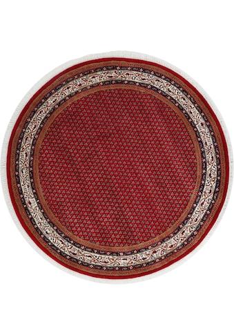 THEKO Orientteppich »Chandi Mir«, rund, 12 mm Höhe, reine Wolle handgeknüpft, mit... kaufen