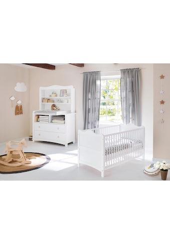 Pinolino® Babymöbel-Set »Florentina«, (Spar-Set, 2 tlg.), extrabreit mit Regalaufsatz; Made in Europe kaufen