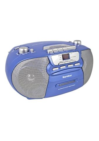 "Karcher tragbare Stereo Boombox »RR 5040 - C ""Oberon""« kaufen"