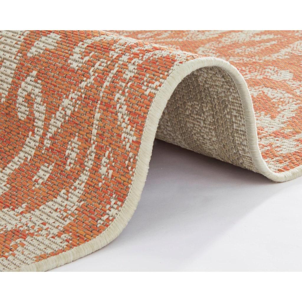 bougari Läufer »Hatta«, rechteckig, 4 mm Höhe, In- und Outdoor geeignet, Flachgewebe