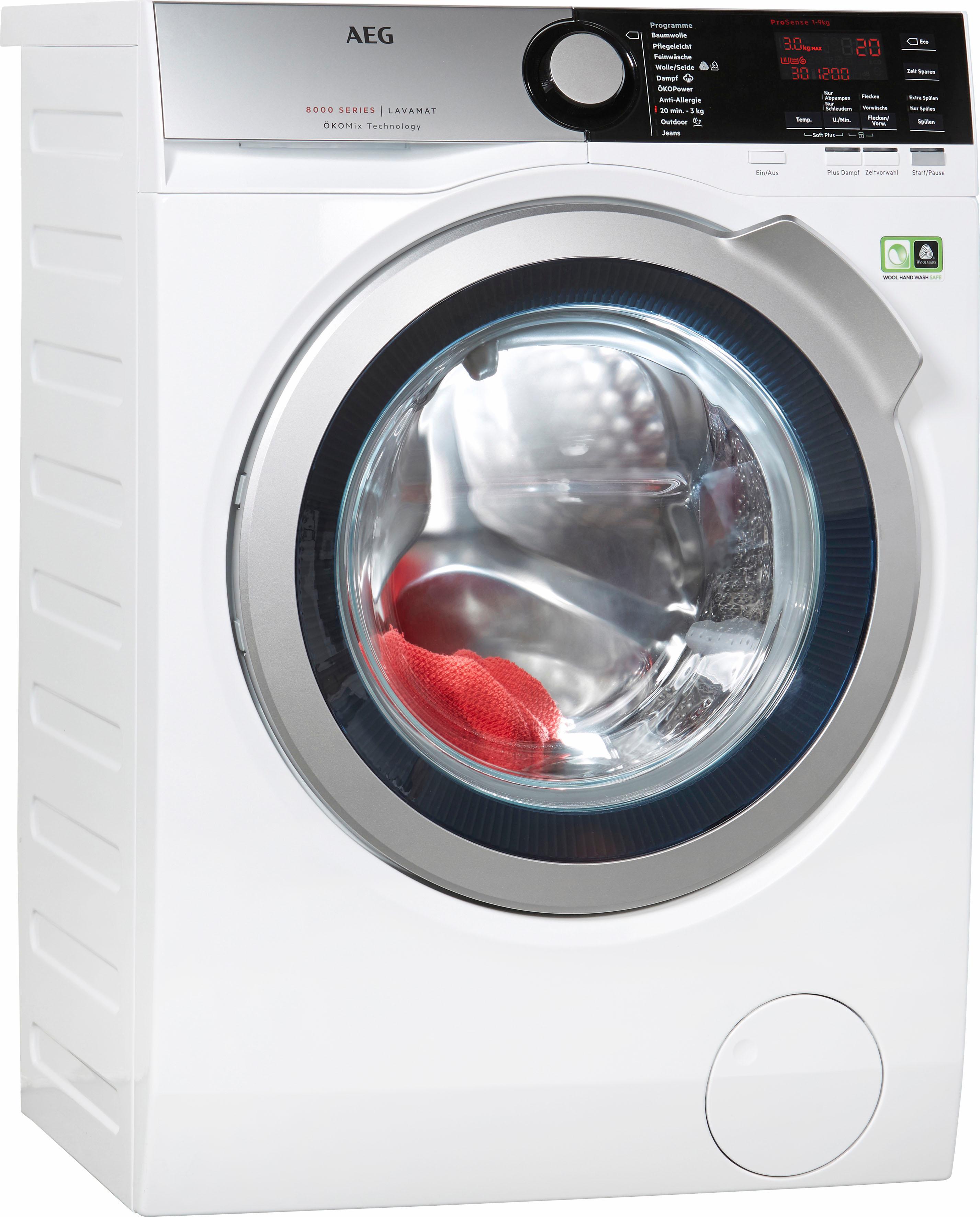 AEG Waschmaschine LAVAMAT L8FE76695 | Bad > Waschmaschinen und Trockner > Frontlader | AEG ELECTROLUX