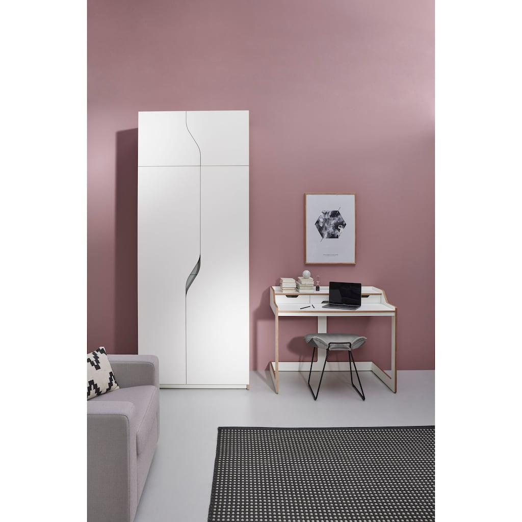 Müller SMALL LIVING Kleiderschrank »PLANE Ausstattung Nr. 2«, Inklusive 3 innenliegenden Schubladen und 2 Kleiderstangen