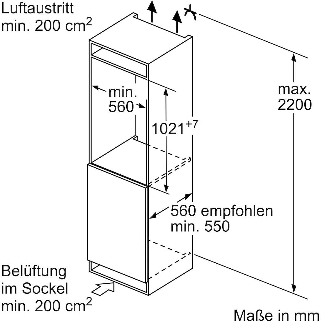 SIEMENS Einbaukühlschrank »KI31RADF0«, iQ500