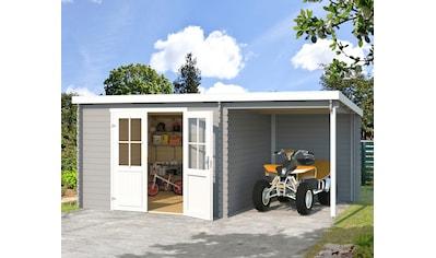 Outdoor Life Products Gartenhaus »Tampa«, mit Anbau kaufen