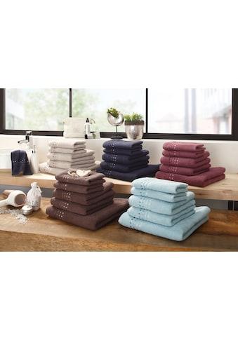 Handtuch Set, »Kelly«, Home affaire (Set) kaufen